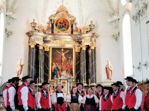Jodelkilbi abgesagt –  Jodelklub Enzian singt in der Pfarrkirche