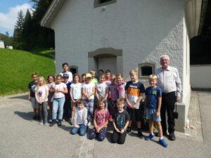 Wallfahrt der Erstkommunikanten ins Luthern Bad