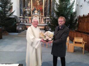 Dank an Diakon Hubert Schumacher