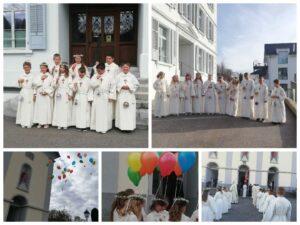 Weisser Sonntag in Hergiswil