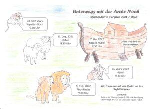 Chlichenderfiir – Unterwegs mit der Arche Noah
